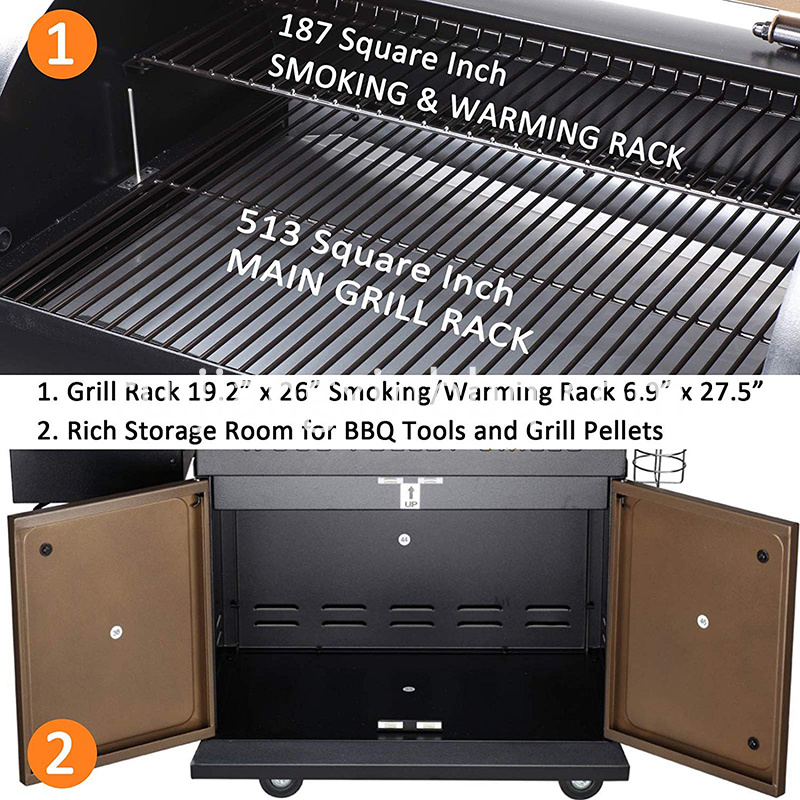 Upgrade Wood Pellet Grill Smoker
