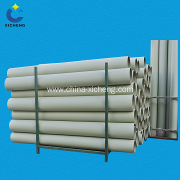 China plastic pipe pp compression ventilation pipe