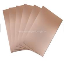 1050 Plaque composite aluminium polymétallique avec titane