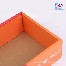 Оптовая изготовленный на заказ курьерская коробка гофрированной бумаги по низким ценам