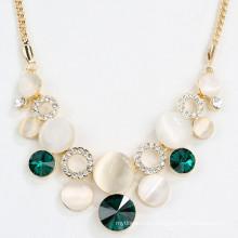 Wholesale Gold Vintage Opal Statement Necklaces Pendant