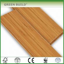 Natürliche Farbe mit weiß gebürstetem 14mm Massivholz-Bambus-Bodenbelag