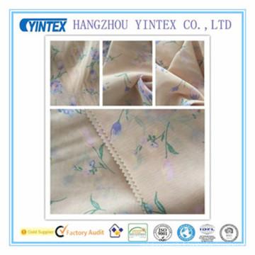 """56 """"tissu imprimé en mousseline de soie de coton fait main et tricoté, 50d * 80s"""