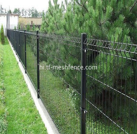 steel fencing panels