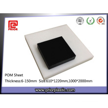 Engineering Thermoplastic White and Black Delrin Plate