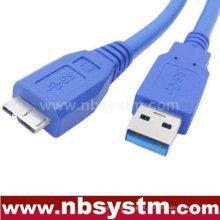 Cabo USB 3.0 Um homem macho para micro B