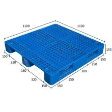 HDPE Heavy Duty Euro Plastic Pallet for Warehouse Storage