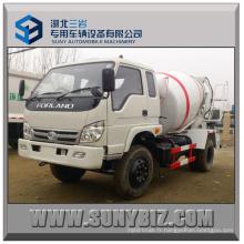 3cbm 4cbm 5 Cubic 4X2 Forland Small Concrete Mixer Truck