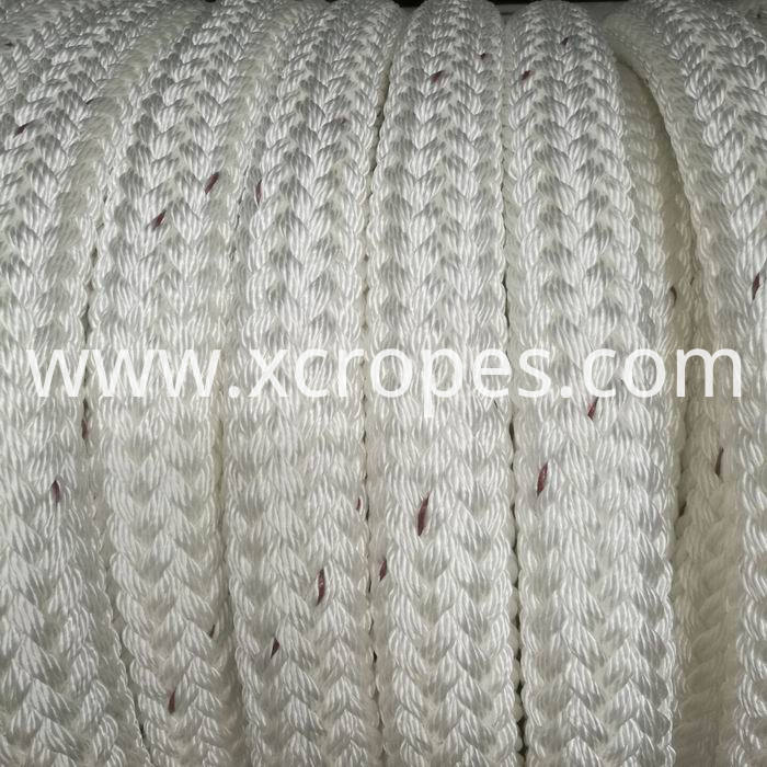 24 Strands Double Braided polyester Polyamid Rope