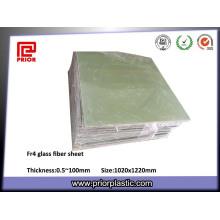 Materiais de isolamento de folha de fibra de vidro epóxi