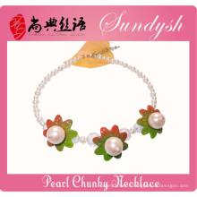Fantaisie Enfants Bijoux Handmade Big Pearl Enfants Colliers