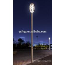 2015 besten Verkauf Hot Dip galvanisiert achteckig, runde Form Solar Straße Licht Pole gute Preis Pole