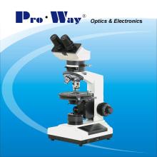 Microscópio da polarização com iluminação da transmissão (NP-107B)