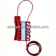 Bloqueo del cable de aislamiento HSBD-8421