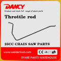 2500 chainsaw parts throttle rod
