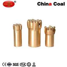 Perno de botón de taladro de roca de minería cónica de rosca de acero al carbono