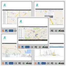 Logiciel de gestion de flotte de suivi GPS avec rapports multi-rapports GS102