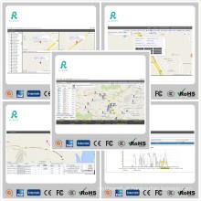Software de gerenciamento de frotas de rastreamento de GPS com relatórios múltiplos GS102