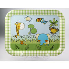 (BC-TM1013) Hot-Sell High Quality Reusable Melamine Serving Tray