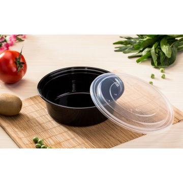 Recipiente de alimento de microondas de plástico