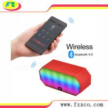 Bester klingender Bluetooth-Sprecher Drahtloser Bluetooth-Lautsprecher mit LED-Licht