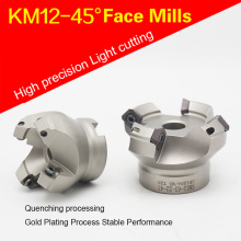 Quenching hardened KM12 Face Mill