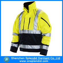 Shenzhen Wholesale Fluorescente Segurança 3m Reflexivo Jaquetas