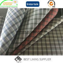 Plaid Patterned Herren Anzug Jacke Liner Futter Fabric China Lieferant