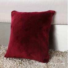 Plain Coloured Super Soft Velvet Cushion
