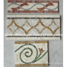 Граница мозаики из мраморного камня (STP93)