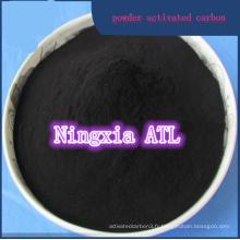 Carbone activé à base de bois lavé à l'acide pour le raffinage du sucre