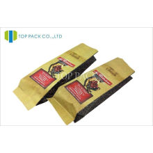 Matte Printed Coffee Packaging Bags , 1 Lb Coffee Bags Customized