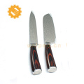 Yangjiang factory 2pcs high quality carbon steel kitchen knife set