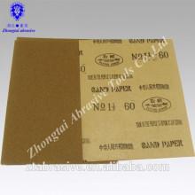 Granat-Sandpapier Soem mit Paket für Supermarkt