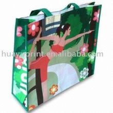 Eco Friendly Wiederverwendbare Einkaufstaschen / PP Non Woven Einkaufstasche / Werbe-Non-Woven-Einkaufstasche