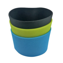 Custom made ceramic mug silicone rubber sleeve