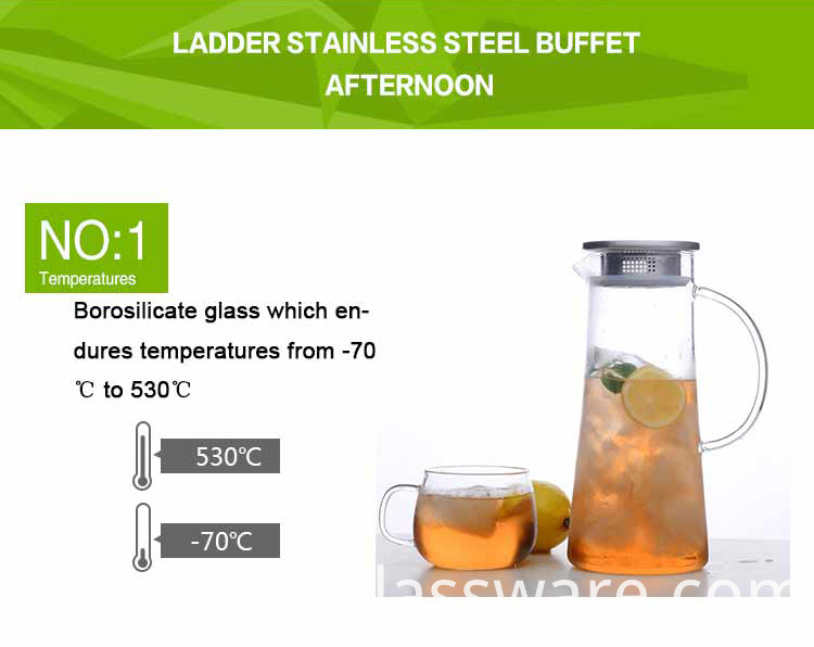 glass pitcher for water