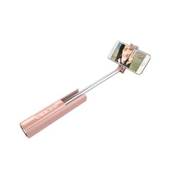 Selfie stick flashlight  power bank