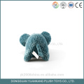 YK GSV wholesale low price plush knitted baby toy elephant