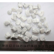 Howlite tumbled stone,high polish