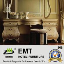 2016 Muebles clásicos de madera del dormitorio y tabla de tocador de madera Furnitue (EMT-SKB23A)