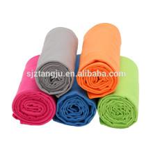 China wholesale custom logo printing microfiber suede towels for beach,sport,yoga