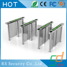 Pedestrian Wheelchair Glass Turnstile Tourniquets