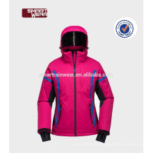 China OEM ao ar livre mulheres vestuário impermeável Windproof Softshell inverno Ski Jacket