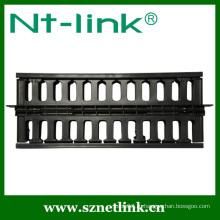 19-дюймовый 2U пластиковый сетевой кабель менеджер