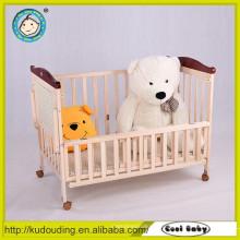 Popular bebê mais recente cama de madeira desenhos