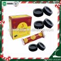 33mm / 10pcs * 10rolls rond charbon de narguilé pour shisha