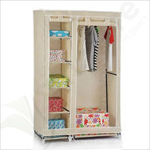 Portable Non-Woven Fabric Wardrobe cloghtes storage cabinet