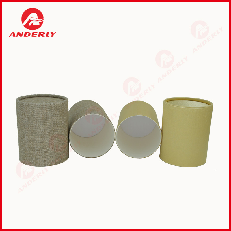 Customized Art Paper Tea Packaging Kraft Tube