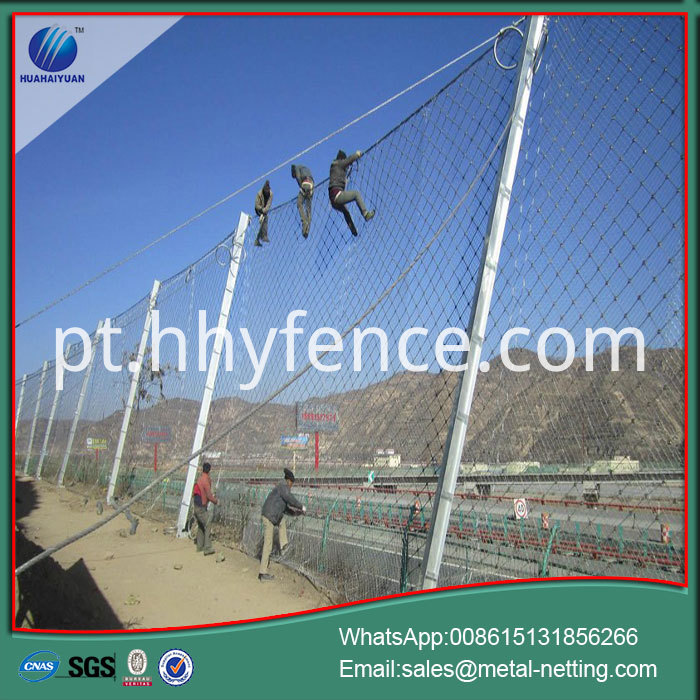 Rock Fall Barrier